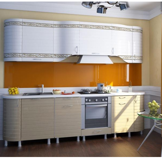 Товара кухня анастасия тип3 белый