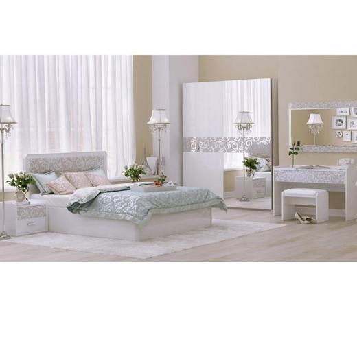 спальня белла белая интернет магазин мебели Stoktraderu в санкт