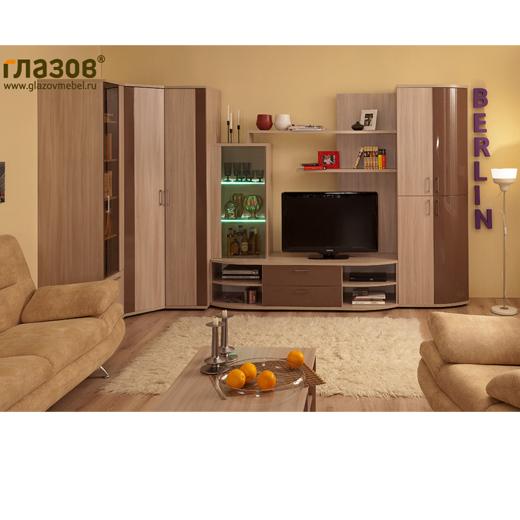Раздел. 25485. 3320. Модульная мебель для гостиной фабрики Глазовская мебельная фабрика